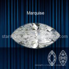Marquise Shape Brilliant Cut Кубический цирконий для ювелирных изделий