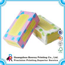 logotipo personalizado impresso papel sabonete embalagem caixa de papel original