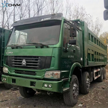 Camion benne SINOTRUK HOWO 8x4 375hp d'occasion