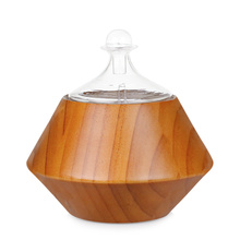Wood Ultrasonic Essential Oil Nebulizer For SPA