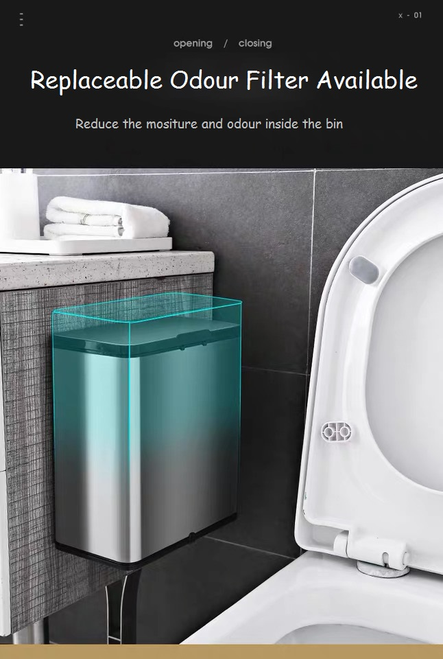 Wall-mounted Dustbin