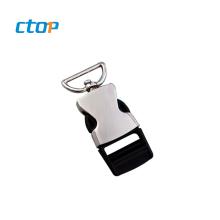 Factory price good quality backpack strap adjustable custom buckle belt buckle for bag metal buckle side release