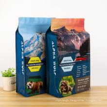 Unique design custom side gusset opp bag packaging plastic bags
