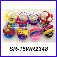Las sandalias de lujo de las sandalias del Brasil de la jalea del pvc sandalias de los gladiadores de los cabritos