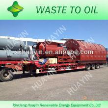 última tecnología de reciclaje de residuos a las máquinas de petróleo proveedor
