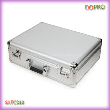 Silver Color Hard Shell Tool Briefcase (SATC010)