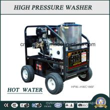 230bar Diesel Engine Hot Water High Pressure Washer (HPW-HWC186F)
