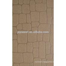 Peuplier ou bois dur Matériau mixte Gravière de graviers