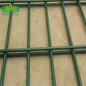 Double Horizontal mesh fence