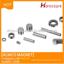Permanent alnico magnets for guitar pickup