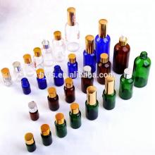 bleu / ambre / transparent flacons compte-gouttes huile essentielle 10ml / 30ml