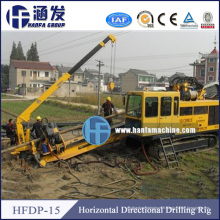 15 ans d'expérience en Chine Hfdp-15 Trenchless Drilling Rig