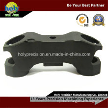 CNC Machining Photography Accessory with Black Anodized