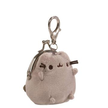 PLUSH CAT COIN PURSE KEY CHAIN-0