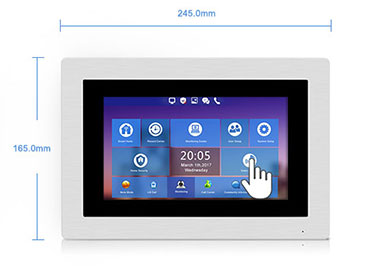 Multi Apartment Door Phone Intercom Wifi Doorbell 7'' TFT LCD Screen High Quality Homemade Sip Doorbell