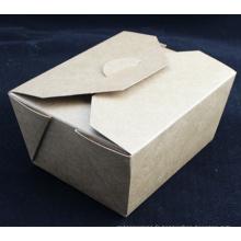 Boîtes jetables pour la nourriture / boîte d'emballage de nourriture rapide