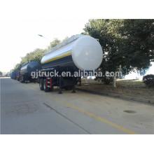 Hot sale chemical semi-trailer factory direct oil semi-trailer 2 axles HCl new semi trailer price