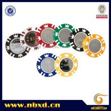 15g Metal Insert Casino Poker Chip (SY-F04-1)
