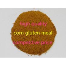 Farinha de glúten de milho em pó para alimentação animal
