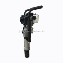 70mm Portable Handheld Petrol Guardrail Vibrating Fence Piling Machine /Post Pile Driver For Asia Market