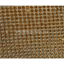 Hot Fix Adhesive Rhinestone Sheet, Hot Fix Crystal Rhinestone Mesh Trimming Roll