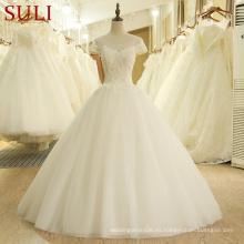 SL-203 Vestido de noivas Alibaba China Vestido de novia por encargo 2017