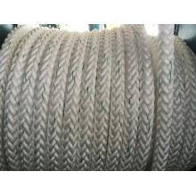 12-Strand Fiber Ropes Mooring Rope PP Rope Polyester Rope Nylon Rope