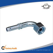 China Fabricación 90 codo Metric hembra multiseal manguera accesorios de tubería