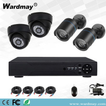 CCTV 4chs 5.0MP DVR-beveiligingssystemen