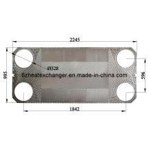 Модели и марки пластин теплообменника и цены прокладок