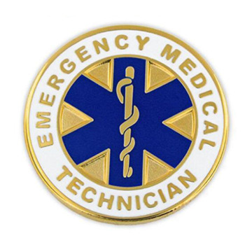 Emergency Medical Technician EMT Anstecknadel