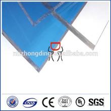 пластиковые строительные материалы твердые дешевые лексана, поликарбоната листа крыши ПК цена для продажи