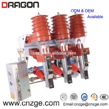 FKN12A-12 / T125-31.5 12kv interruptor de carga de alto voltaje neumático de vacío