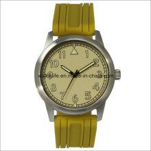 Arm Luminous Stainless Steel Quartz Men Wrist Watch