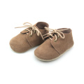 Mjukt Sole Leather Barnskor Barn Oxford Footwear