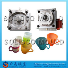 injection plastic cup mold made in P20
