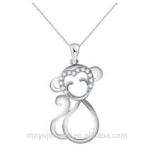 Различные Monkey сформировали шарм шкентель оптовый микро вымощает верхние ранга shinny CZ камней оптовые ювелирные изделия