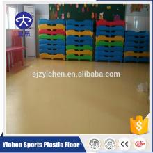 rouleau de plancher pvc matières premières pour l'utilisation de la maternelle