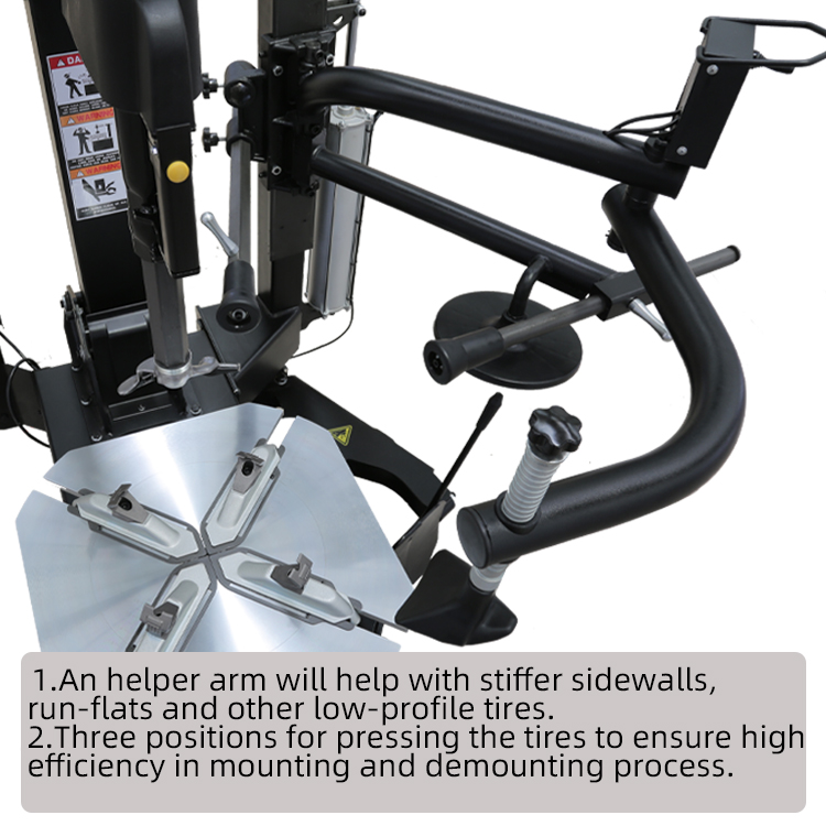 High Performance Tire Changer Helper Arm