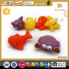 Lovely eco-friendly rubber bath toy