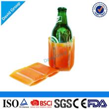 Ice Beer Bottle Cooler Pack&disposable Cold Pack&plastic Beer Bottle Cooler