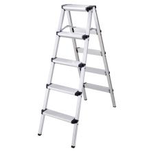 New design high quality a type aluminum household step ladder,platform a frame ladder
