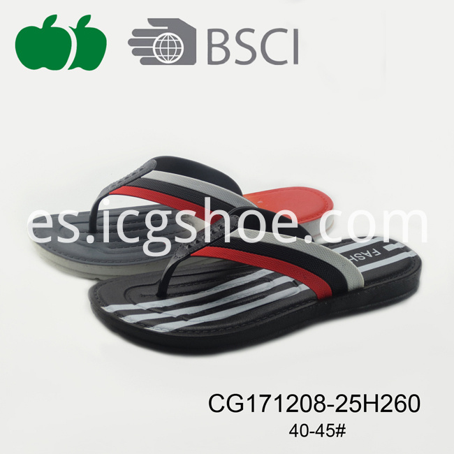 Latest Good Quality Cheap Men Flip Flops