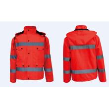 Светоотражающие оранжевые работы Безопасность Куртки и верхняя одежда