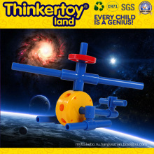 DIY Пластиковые игрушки образования для выращивания творчества ребенка