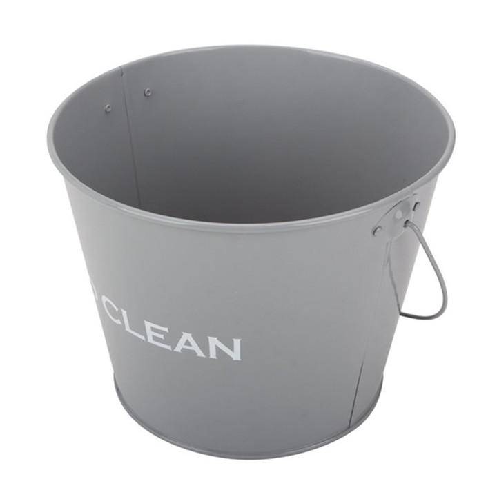 Painted Galvanized Steel Metal Pail