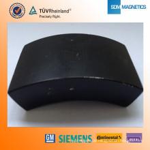 Top-Herstellung Sinterer schwarzer Magnet Wind Seltenerd Magnet Epoxy Magnet