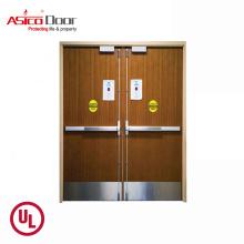 ASICO Fire Rated Solid Wood Door Designs In Pakistan Price