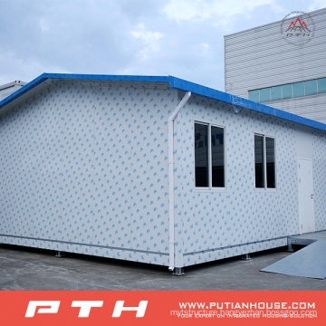 Prefabricated Container House for Modular Temporary Living Home
