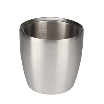 DoubleWall Insulated StainlessSteel IceBucket für CoolDrinks